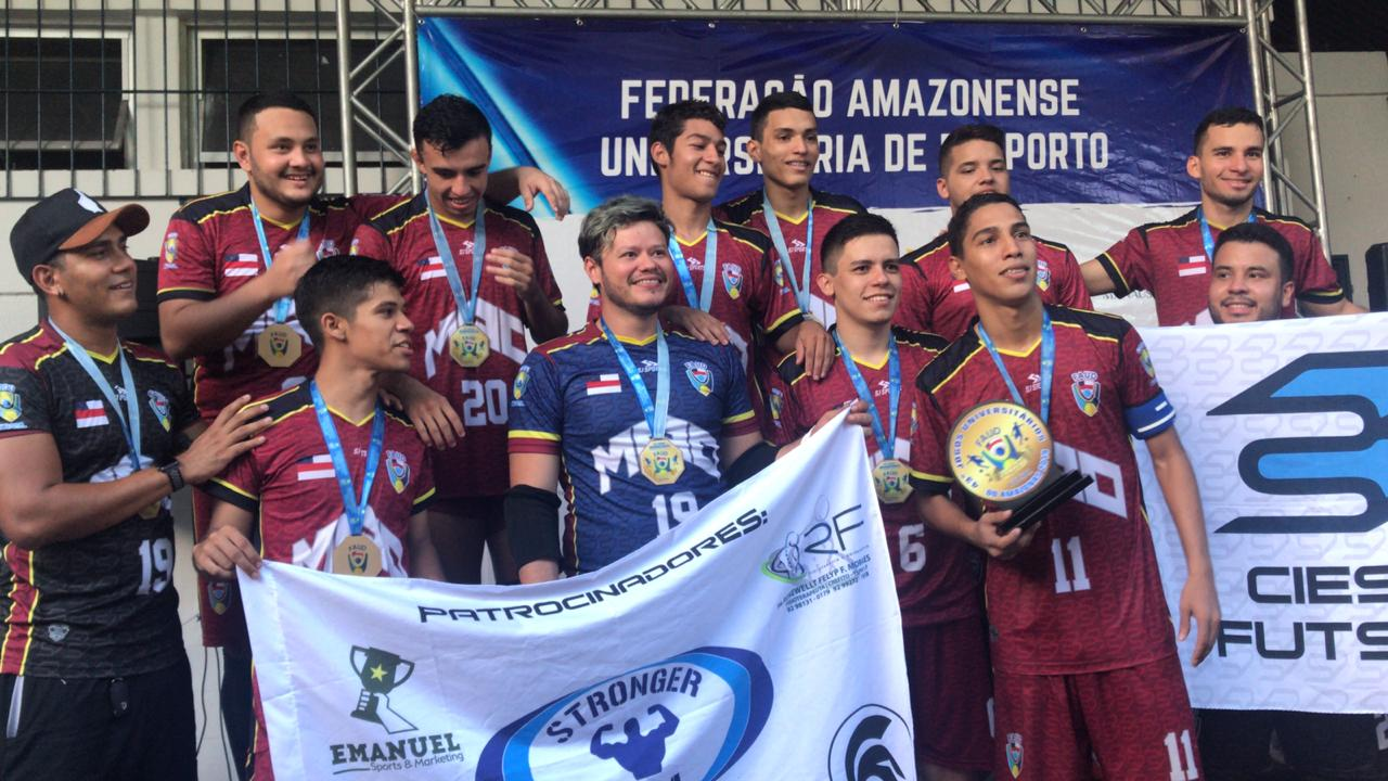 Equipe do Ciesa inicia competições nos Jogos Universitários Brasileiros
